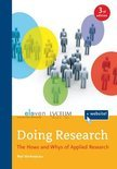 top 5 scriptieboeken, titel: doing research