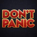 don't panic, HHGTTG