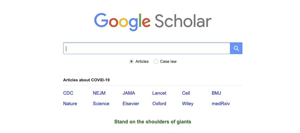 voorbeeld essay, bronnen zoeken met google scholar